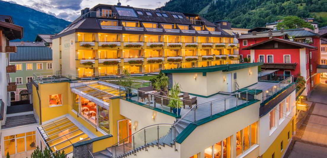 Aussenansicht Hotel Norica - Hotel Norica Therme