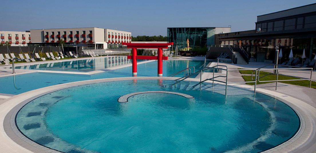 Hotel Spa Linsberg Asia Aussenpool - Hotel & Spa Linsberg Asia