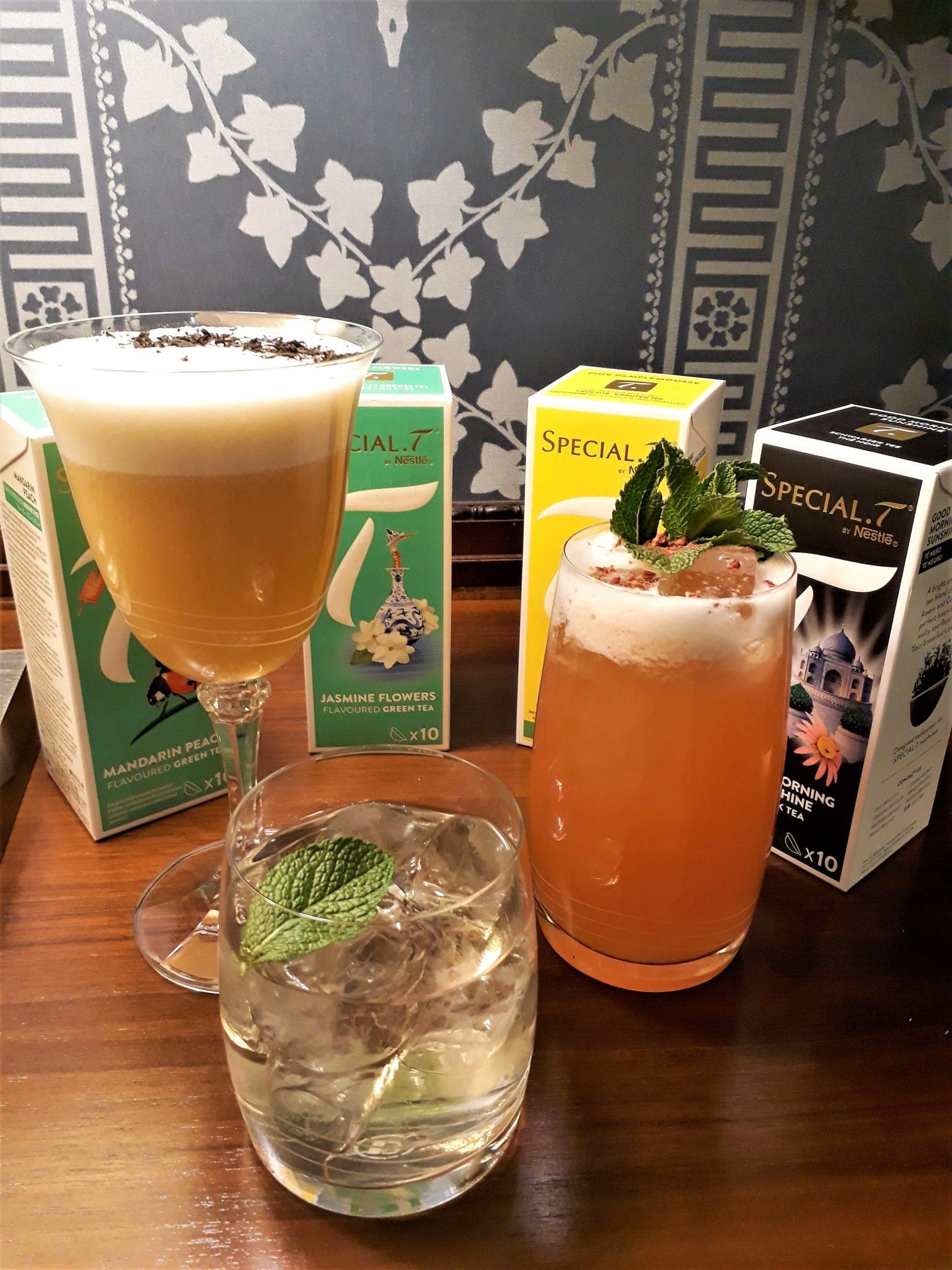 Cocktails - Tea Tasting!