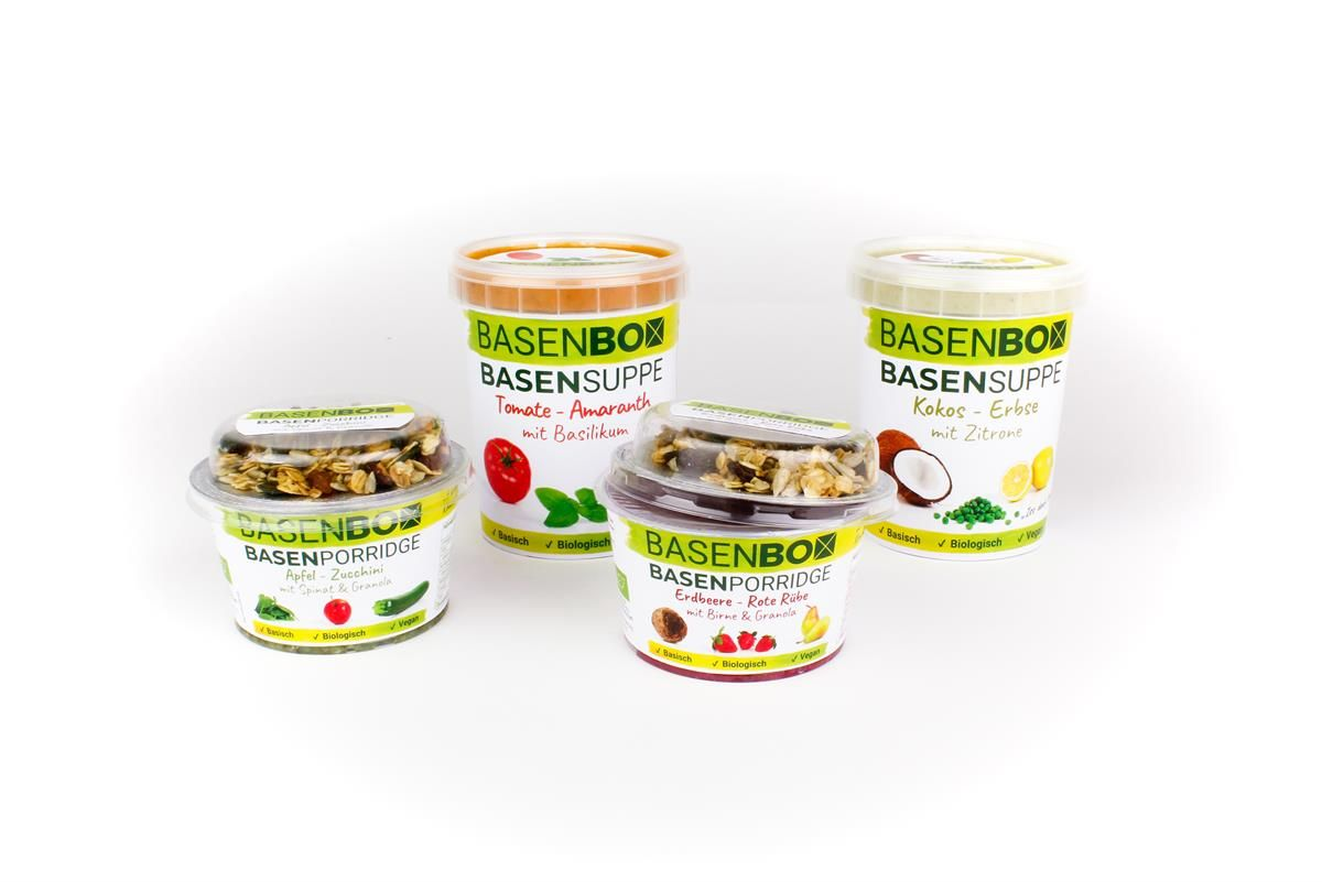 BASENBOX Die Produktlinie 1 - Mit BASENBOX zu einem ausgeglichenem Säure-Basen-Haushalt
