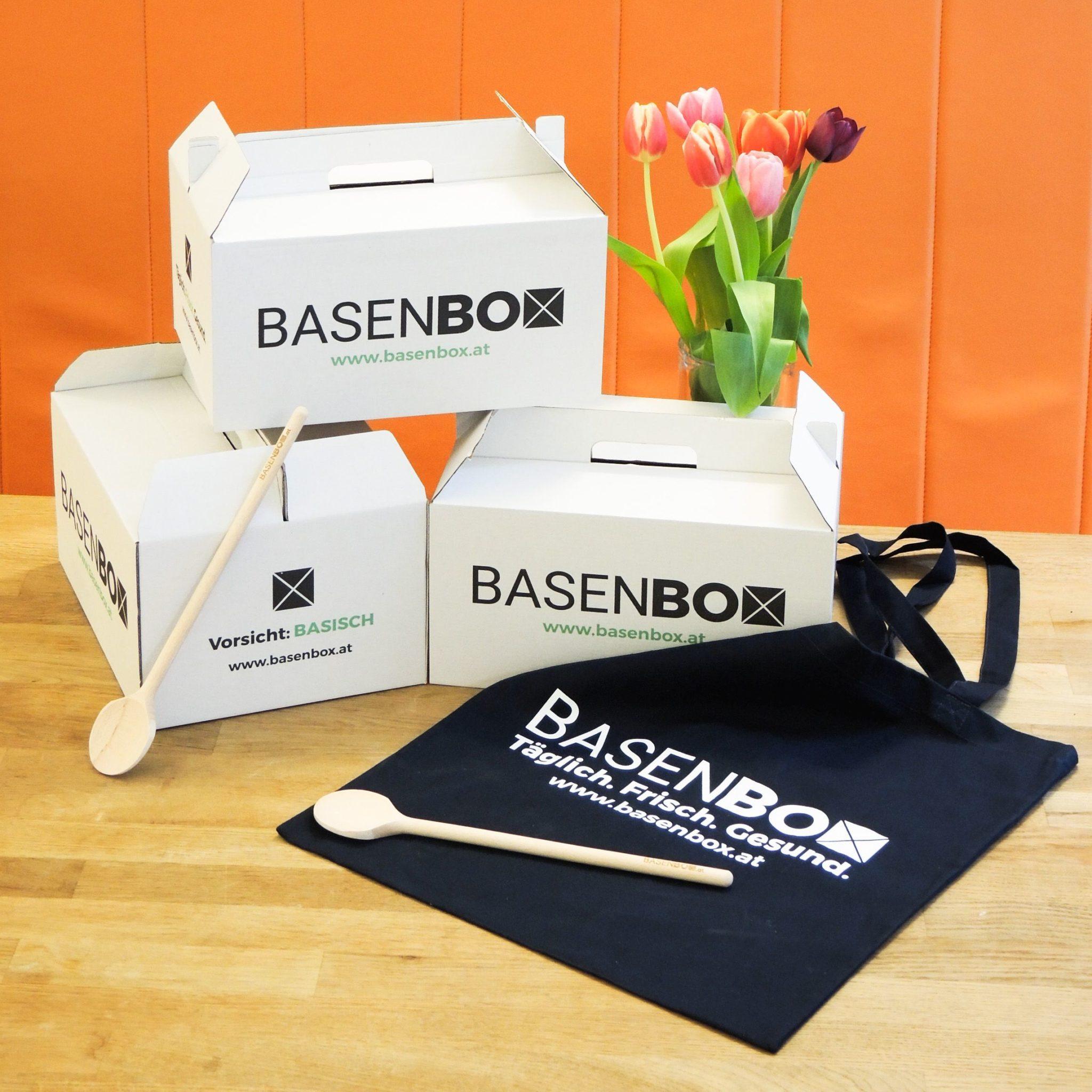 BASENBOX Fruehstuecks Mittags und - Mit BASENBOX zu einem ausgeglichenem Säure-Basen-Haushalt