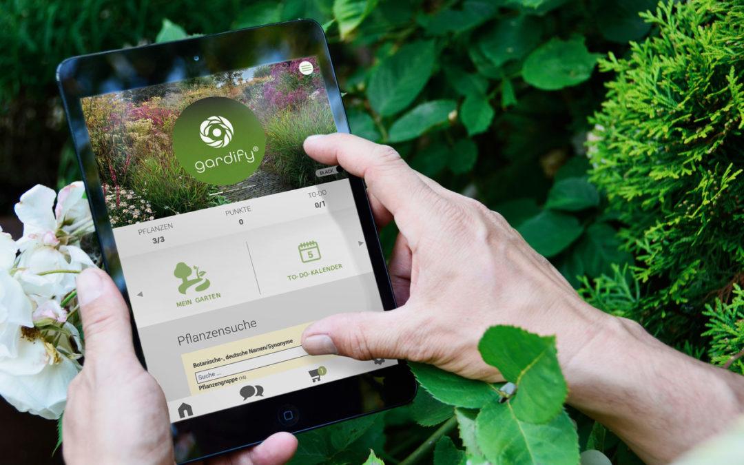 Das neue, kostenlose Navi für jeden Garten