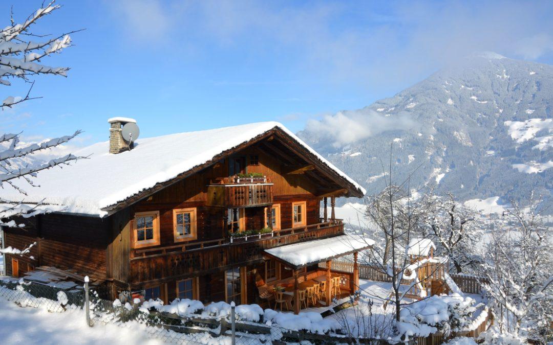 Zillertal: Einkuscheln an der Piste