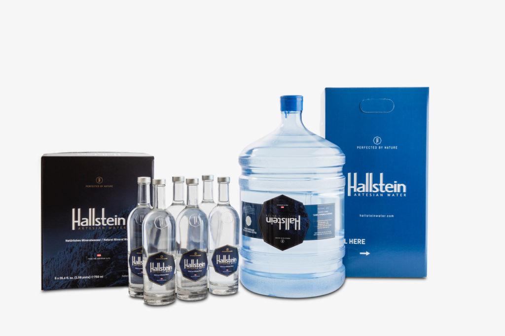 HallsteinWaterGlasflaschen12 1024x682 - Was ist gesundes Trinkwasser?
