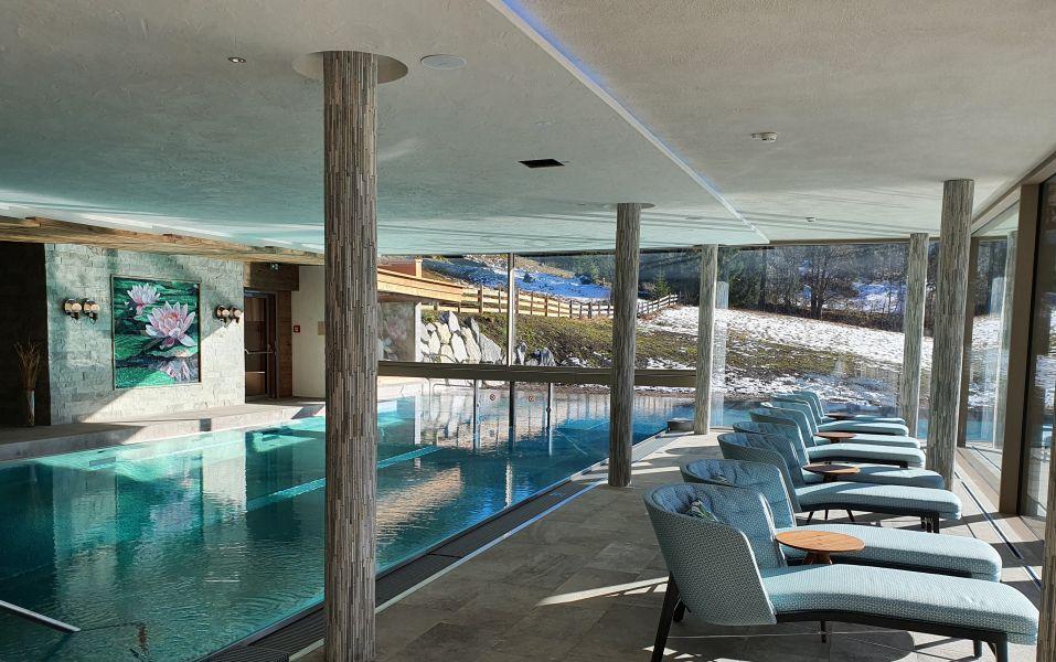 relaxen am indoorpool hotel bergblick - Idylle! Neues alpines Hideaway im Tannheimer Tal