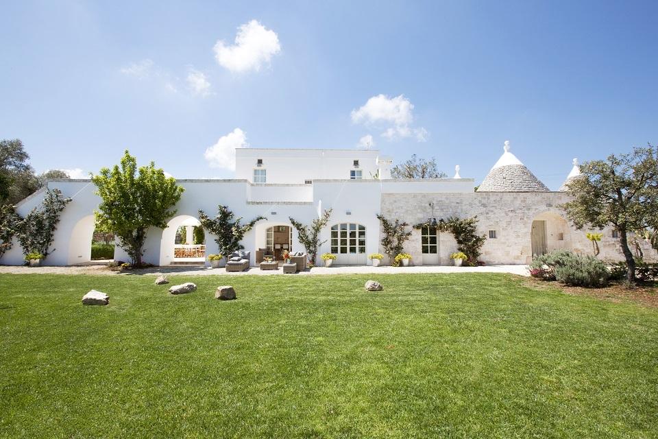 Think Puglia TrulloRosmarino 163 - Top 10 Villen mit den schönsten Gärten im Mittelmeerraum