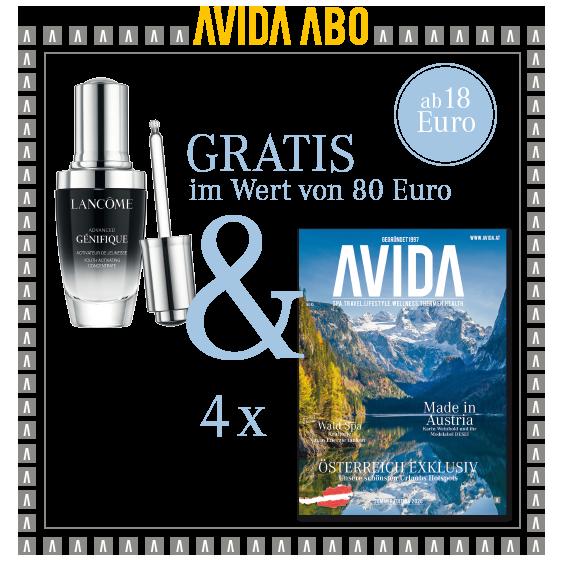 avida goodie 090321 - AVIDA ABO / 4 Ausgaben im Jahr / Promotion Lancôme
