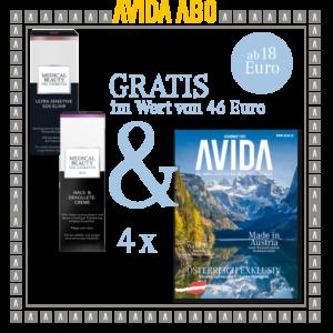 avida goodie 310321 300x300 - AVIDA ABO / 4 Ausgaben im Jahr / Promotion Lancôme