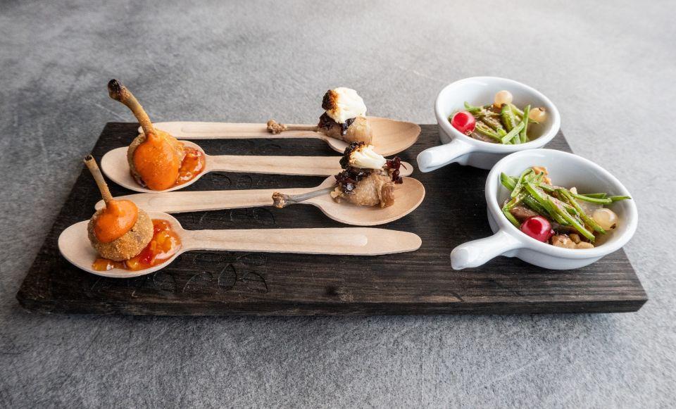 aperitif   finger food haeppchen hotel granbaita dolomites - Unique moments in den Dolomiten