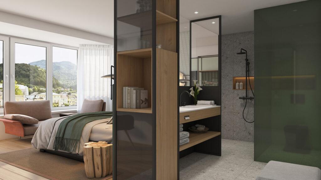 doppelzimmer superior plus traunblick hotel goldenes schiff 1024x576 - Das neue Goldene Schiff in Bad Ischl