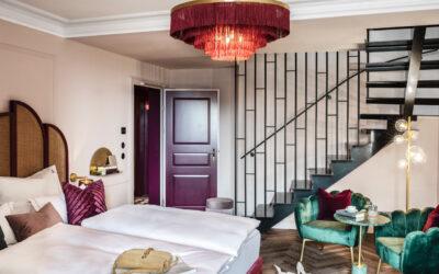 Hotel Josefine Maisonette unteres Bett Quer ©Tina Herzl 400x250 - News
